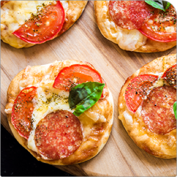 Go to English Muffin Pizza